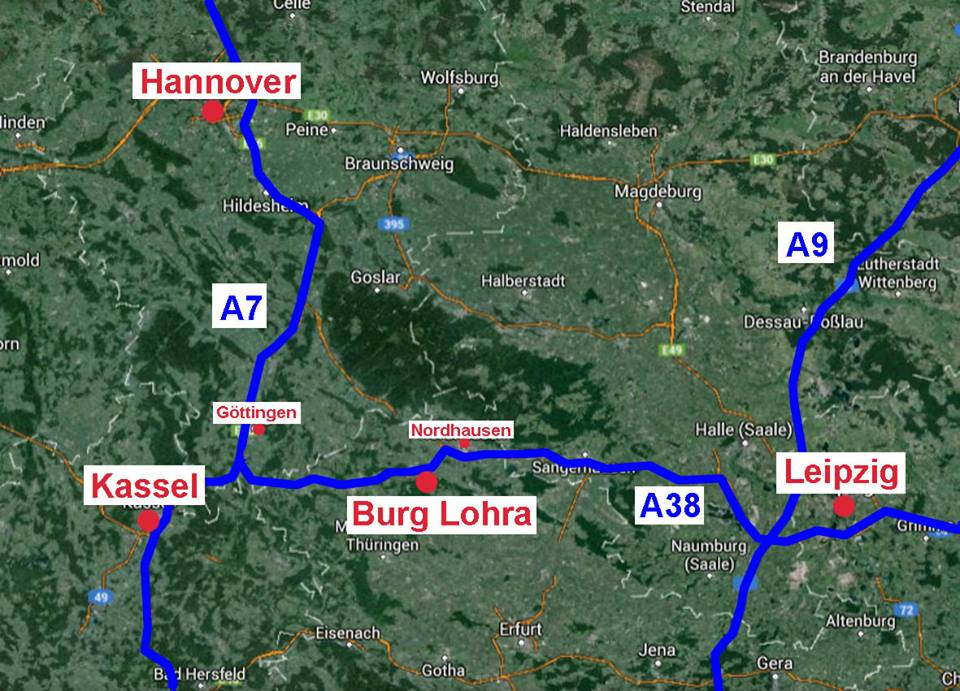 Map to Lohra